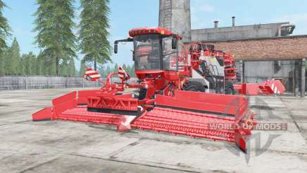 Holmer Terra Felis 2 red orange for Farming Simulator 2017