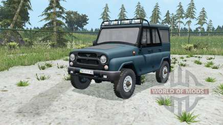 UAZ hunter (315195) for Farming Simulator 2015