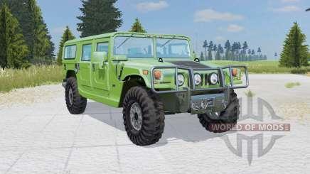 Hummer H1 Alpha Wagon 2006 for Farming Simulator 2015