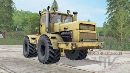 Kirovets K-700A yellow color for Farming Simulator 2017