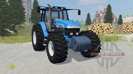 Ford 8970 rich electric blue for Farming Simulator 2015