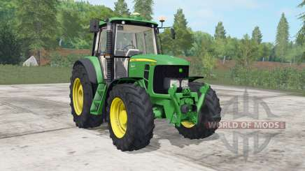 John Deere 6030&7030-series for Farming Simulator 2017