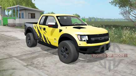 Ford F-150 SVT Raptor SuperCab 2009 for Farming Simulator 2017