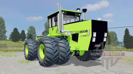 Steiger Cougar III PTA280 twin wheels for Farming Simulator 2015