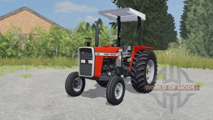Massey Ferguson 290 coquelicot for Farming Simulator 2015