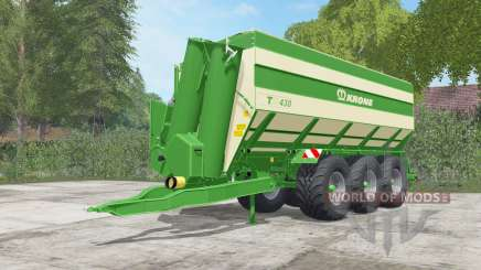 Krone TX 430 pantone green for Farming Simulator 2017