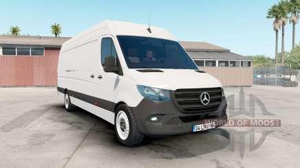 Mercedes-Benz Sprinter VS30 Van 316 CDI 2019 for American Truck Simulator