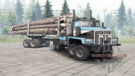Western Star 6900TS v1.2 sea serpent for Spin Tires