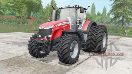 Massey Ferguson 8727-8737 wheels selection for Farming Simulator 2017