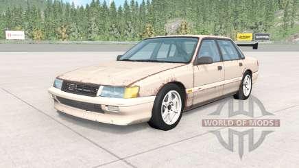 Ibishu Pessima 1988 rusty skin v0.2 for BeamNG Drive