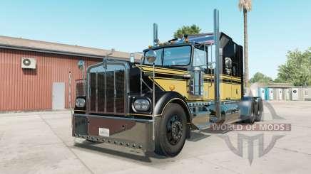 Kenworth W900A black for American Truck Simulator
