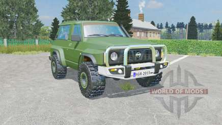 Nissan Patrol GR 3-door (Y60) for Farming Simulator 2015