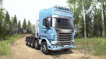 Scania R730 Topline 10x10 for MudRunner