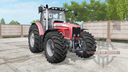 Massey Ferguson 6460-6495 deep carmine pink for Farming Simulator 2017