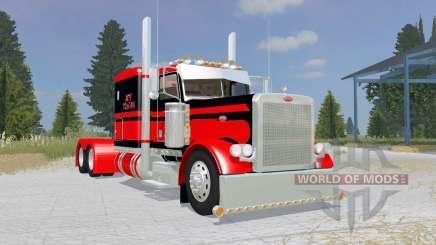Peterbilt 379 Flat Top red for Farming Simulator 2015