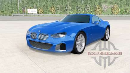 BMW M850i coupe (G15) replica v0.1 for BeamNG Drive