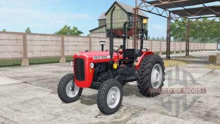 Tafe 42 DI light brilliant red for Farming Simulator 2017