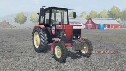 MTZ-80, Belarus and manual ignition for Farming Simulator 2013