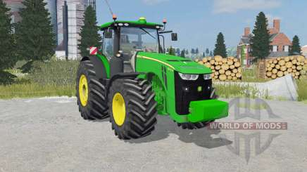 John Deere 8370R weight for Farming Simulator 2015