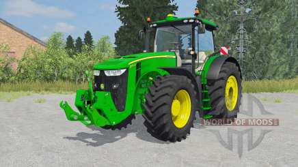 John Deere 7290R&8370R for Farming Simulator 2015