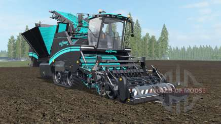 Grimme Maxtron 620 turquoise blue for Farming Simulator 2017