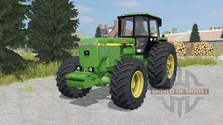 John Deere 4755 forest green for Farming Simulator 2015