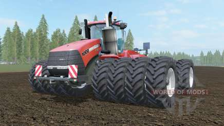 Case IH Steiger 1000 cinnabar for Farming Simulator 2017