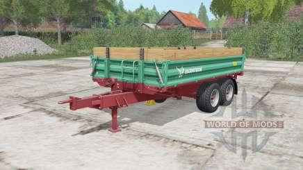 Farmtech TDK 900 persian green for Farming Simulator 2017