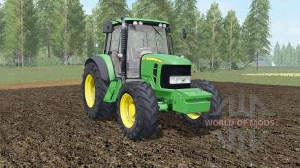 John Deere 6030&7030 Premium with weights for Farming Simulator 2017