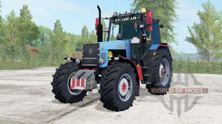 MTZ-1221 Belarus blue color for Farming Simulator 2017