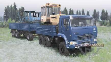 KamAZ-6522 v2.0 for Spin Tires