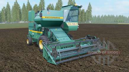 SK-5МЭ-1 Niva-Effect Persian green color for Farming Simulator 2017