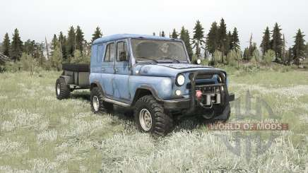 The UAZ-3151 for MudRunner