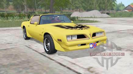 Pontiac Firebird Trans Am 1977 for Farming Simulator 2017