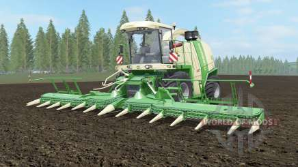 Krone BiG X 1100 pantone green for Farming Simulator 2017