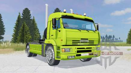 KamAZ-5460 green-lime color for Farming Simulator 2015