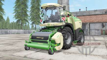 Krone BiG X 480 lime green for Farming Simulator 2017