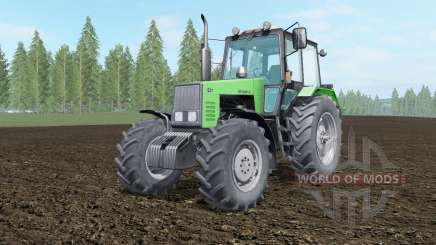 MTZ-1221 Belarus green color for Farming Simulator 2017