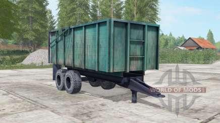 PTS-10 dark blue color for Farming Simulator 2017