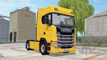 Scania S 580 Highline 2017 for Farming Simulator 2017