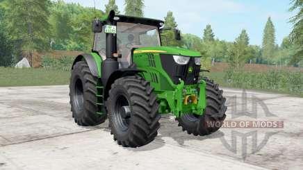 John Deere 6175R-6215R north texas green for Farming Simulator 2017
