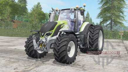 Valtra T234 yellow green for Farming Simulator 2017