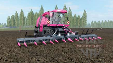 Krone BiG X 1100 Pink Edition for Farming Simulator 2017