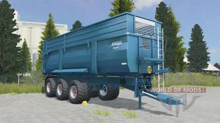 Krampe Big Body 900 S eastern blue for Farming Simulator 2015