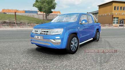 Volkswagen Amarok Double Cab Highline 2016 for Euro Truck Simulator 2