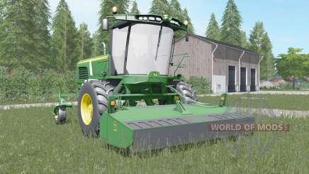 John Deere W260 shamrock green for Farming Simulator 2017