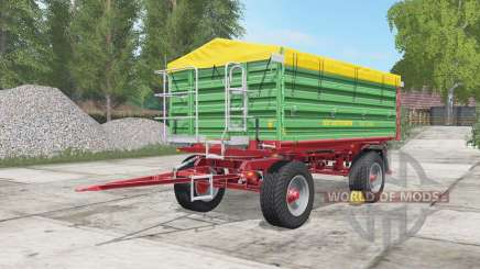 Strautmann SZK 1402 medium sea green for Farming Simulator 2017
