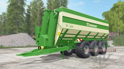 Krone TX 430 north texas green for Farming Simulator 2017