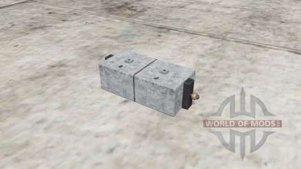 Selfᶆade Small Weight for Farming Simulator 2017