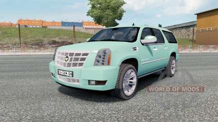 Cadillac Escalade ESV Platinum Edition 2008 for Euro Truck Simulator 2